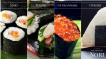 Nori-Blätter für Maki, Temaki, Gunkanmaki uns Origiri